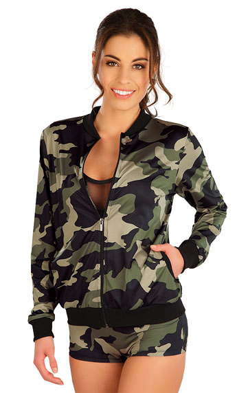 Bundy, vesty > Funkční mikina dámská na zip. 5B352