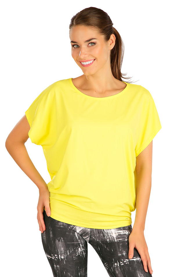 Tričko dámské s krátkým rukávem. 5B387 | Tílka, trička, halenky LITEX
