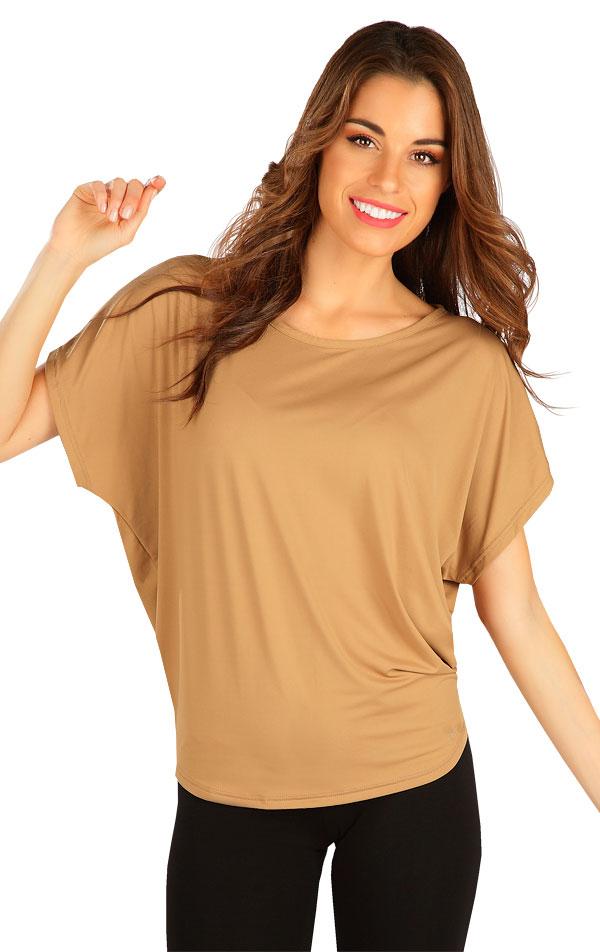 Tričko dámské s krátkým rukávem. 5B388 | Tílka, trička, halenky LITEX