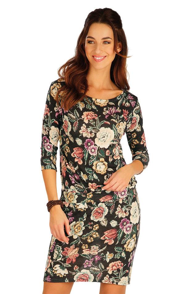 Šaty dámské s 3/4 rukávem. 60009 | Sportovní oblečení LITEX