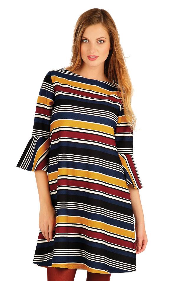 Šaty dámské s 3/4 rukávem. 60016   Sportovní oblečení LITEX