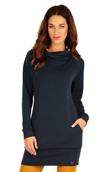 Šaty a sukně > Mikinové šaty s dlouhým rukávem. 60019