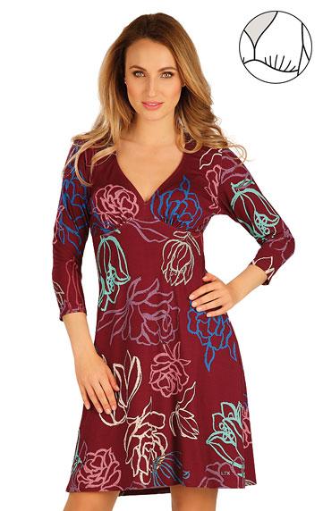 Šaty a sukně > Šaty dámské s 3/4 rukávem. 60027
