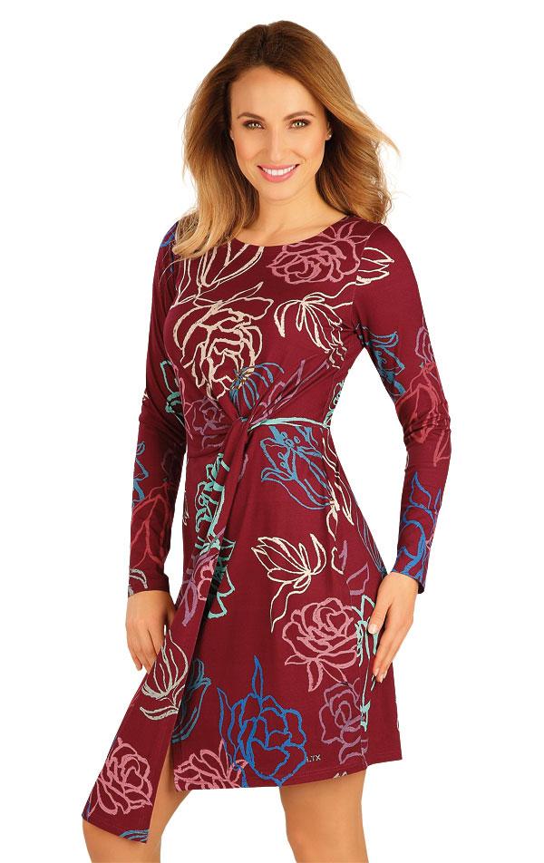 Šaty dámské s dlouhým rukávem. 60028 | Sportovní oblečení LITEX