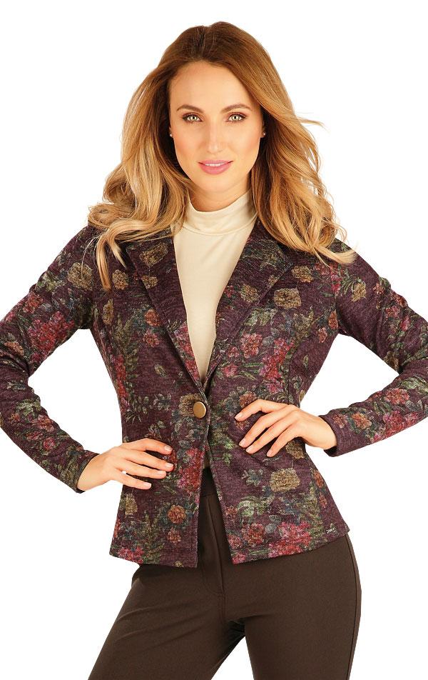 Sako dámské s dlouhým rukávem. 60030 | Bundy, vesty, kabátky LITEX