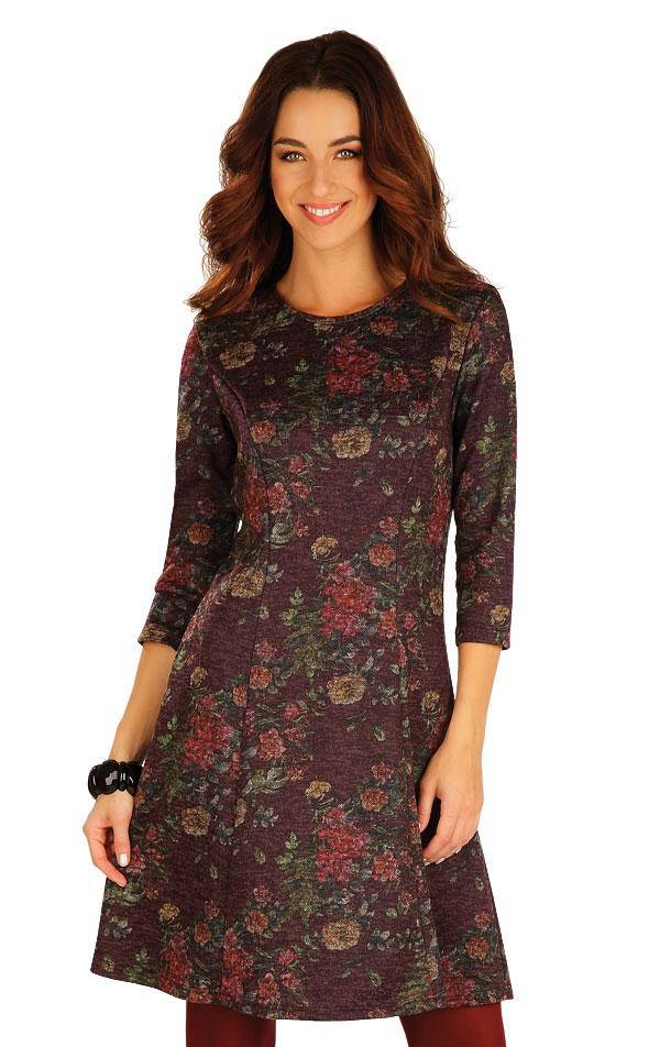 Šaty dámské s 3/4 rukávem. 60033 | Sportovní oblečení LITEX