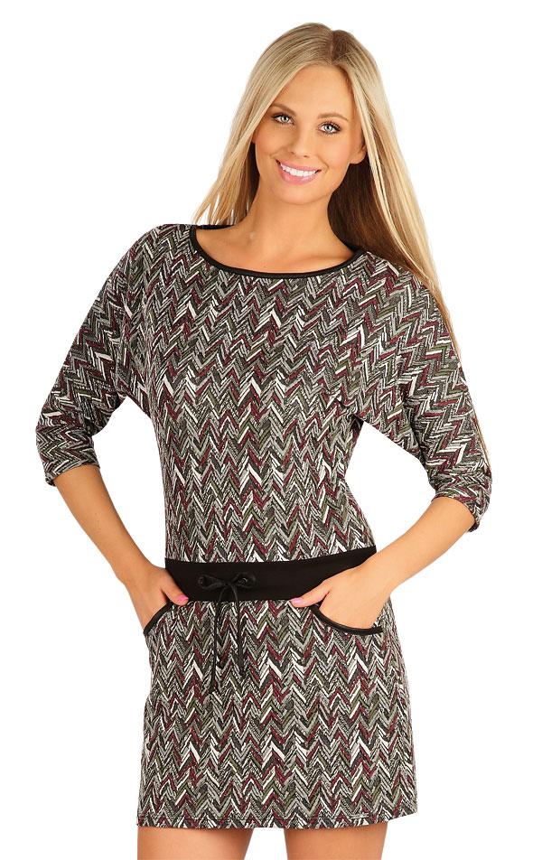 Šaty dámské s 3/4 rukávem. 60036 | Šaty, sukně, tuniky LITEX