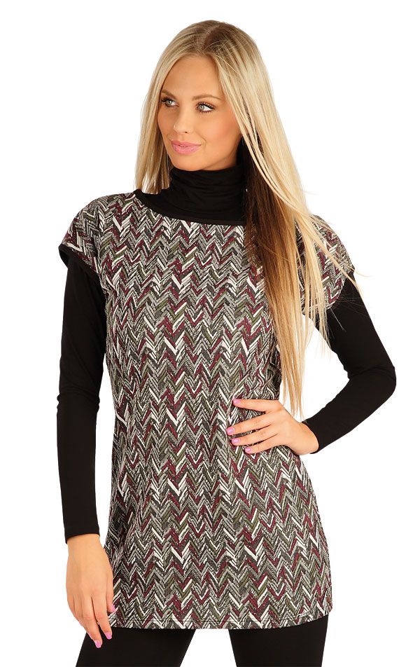 Tunika dámská s krátkým rukávem. 60037 | Šaty, sukně, tuniky LITEX