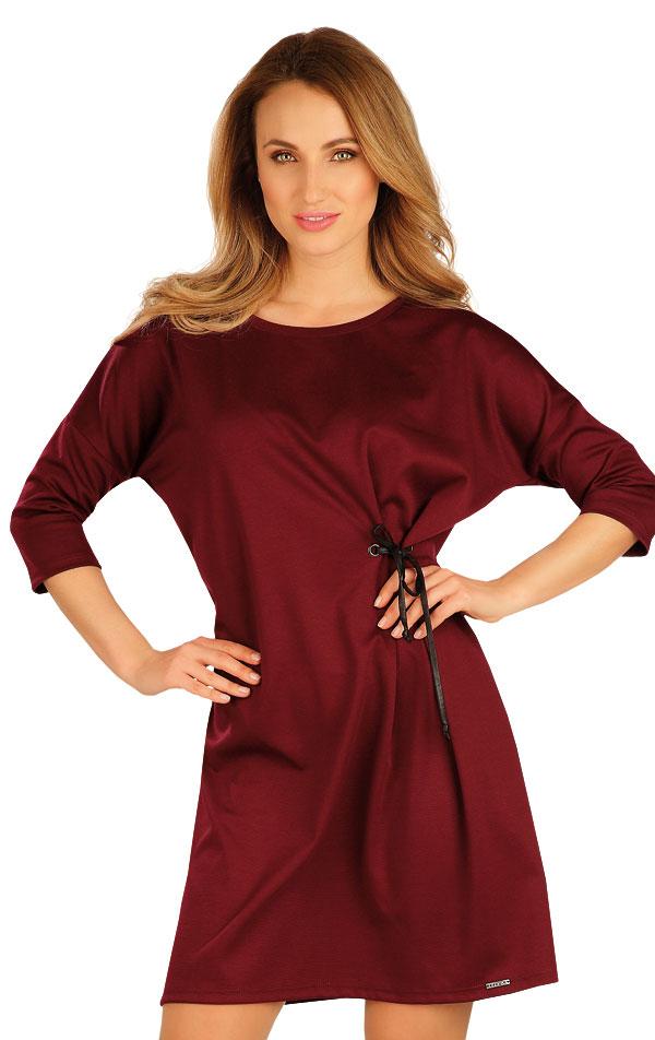 Šaty dámské s 3/4 rukávem. 60042   Šaty, sukně, tuniky LITEX