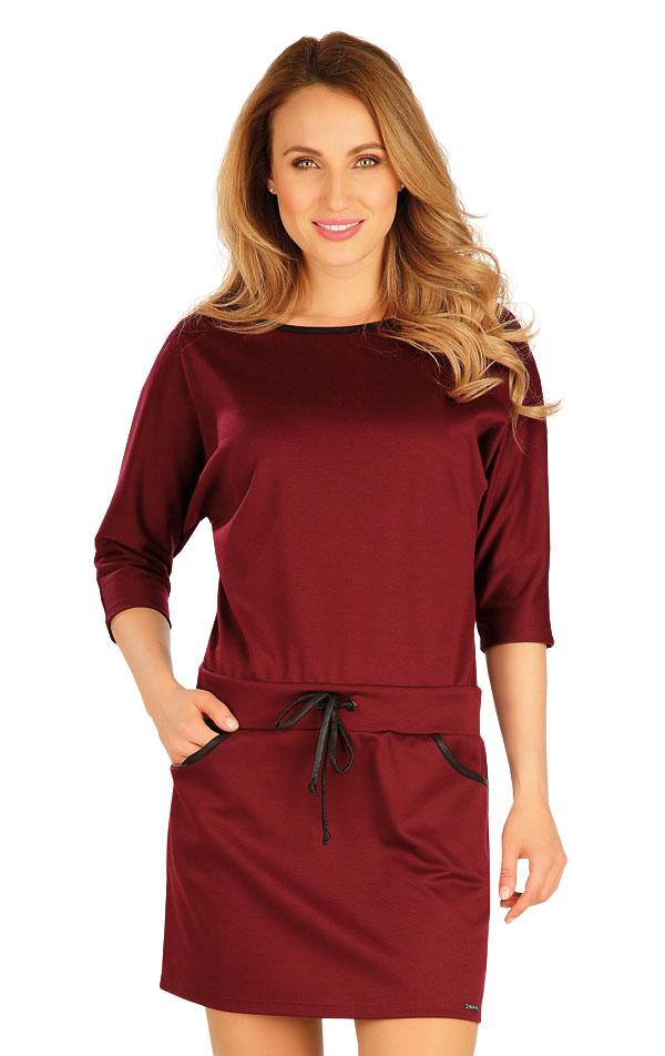 Šaty dámské s 3/4 rukávem. 60043 | Šaty, sukně, tuniky LITEX