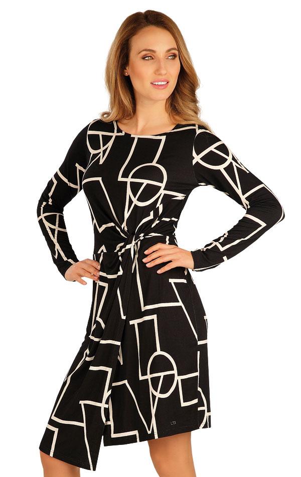 Šaty dámské s dlouhým rukávem. 60050   Sportovní oblečení LITEX