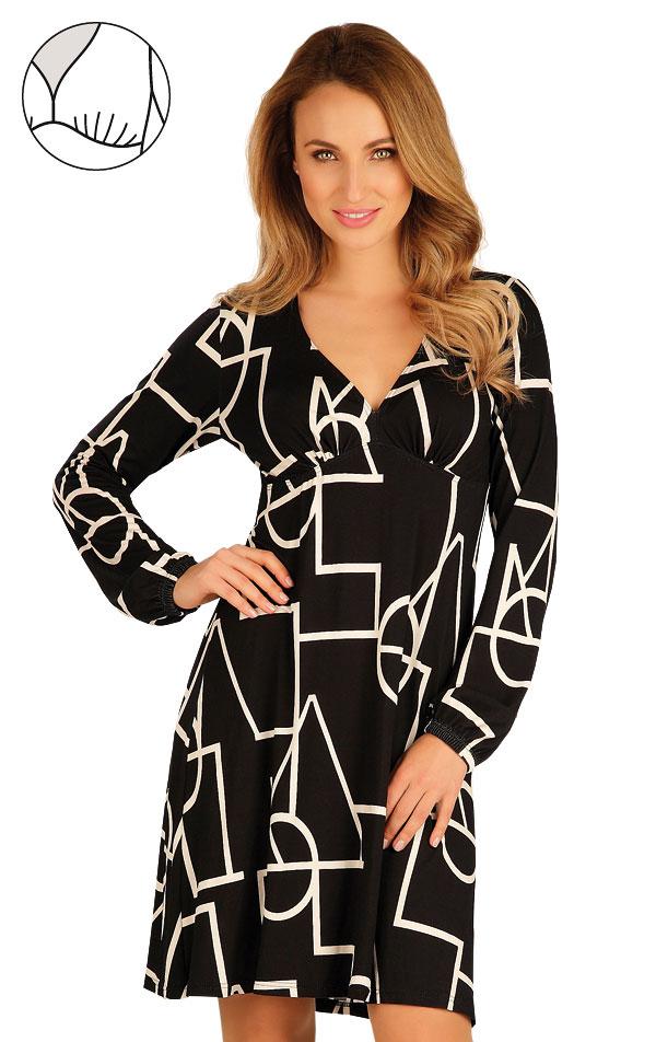 Šaty dámské s dlouhým rukávem. 60051   Šaty, sukně, tuniky LITEX