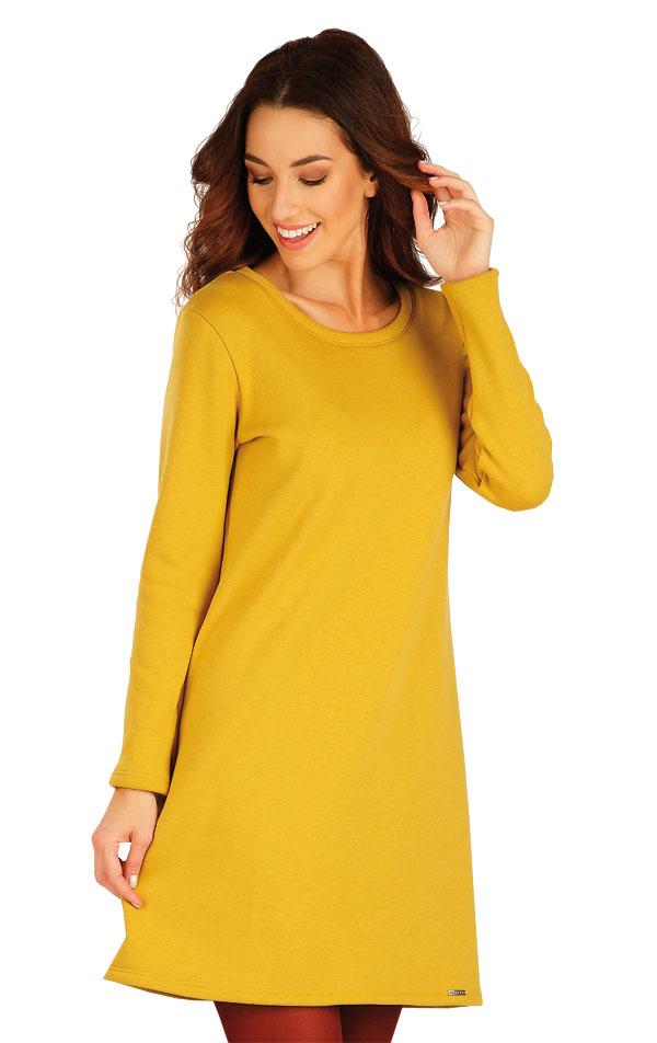 Šaty dámské s dlouhým rukávem. 60100 | Mikiny a roláky LITEX