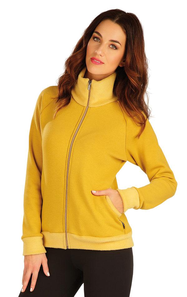 Mikina dámská na zip. 60101 | Vesty a bundy LITEX