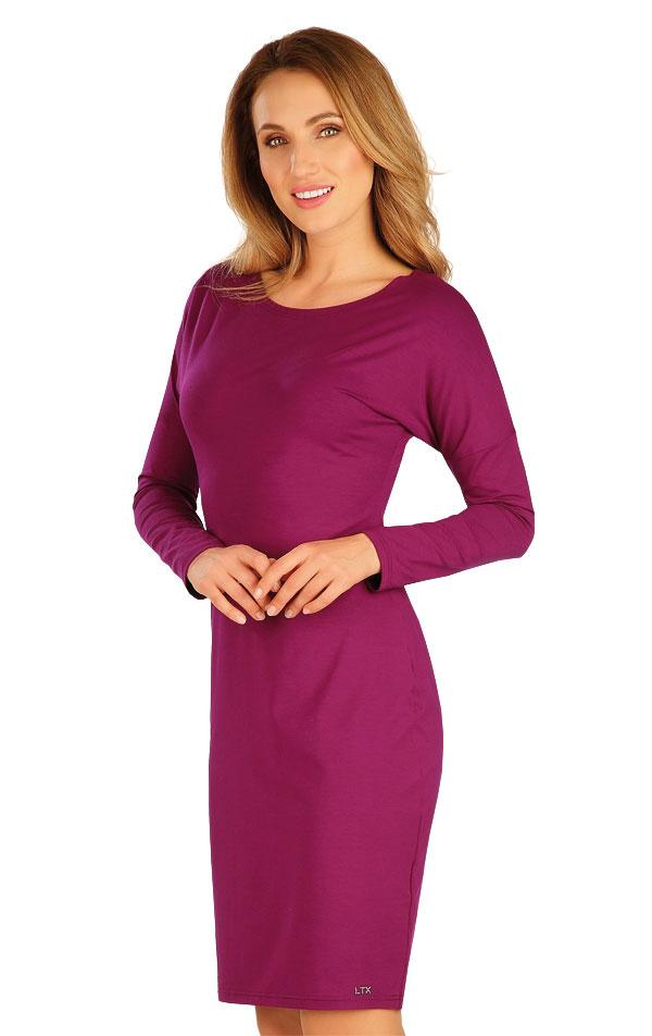 Šaty dámské s dlouhým netopýřím rukávem. 60127 | Šaty a sukně LITEX