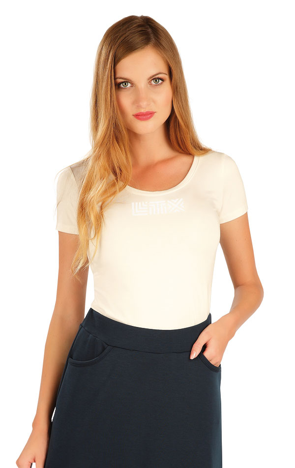 Tričko dámské s krátkým rukávem. 60129   Trika, topy, tílka LITEX
