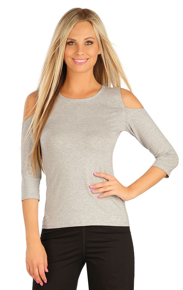 Tričko dámské s 3/4 rukávem. 60135 | Sportovní oblečení LITEX