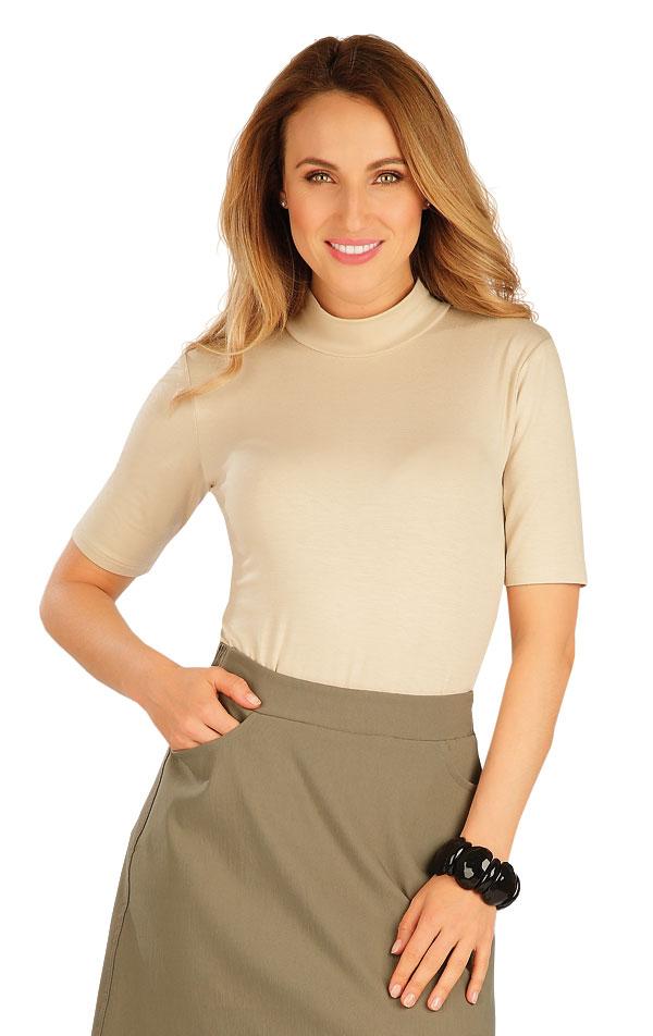 Tričko dámské s krátkým rukávem. 60137   Tílka, trička, halenky LITEX