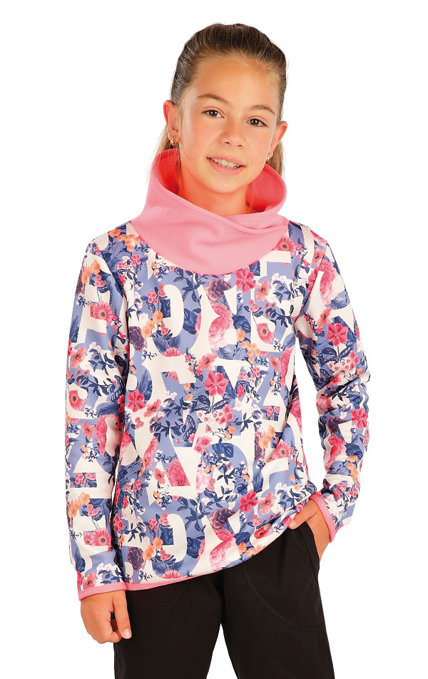 Mikina dětská se stojákem. 60236 | Sportovní oblečení LITEX