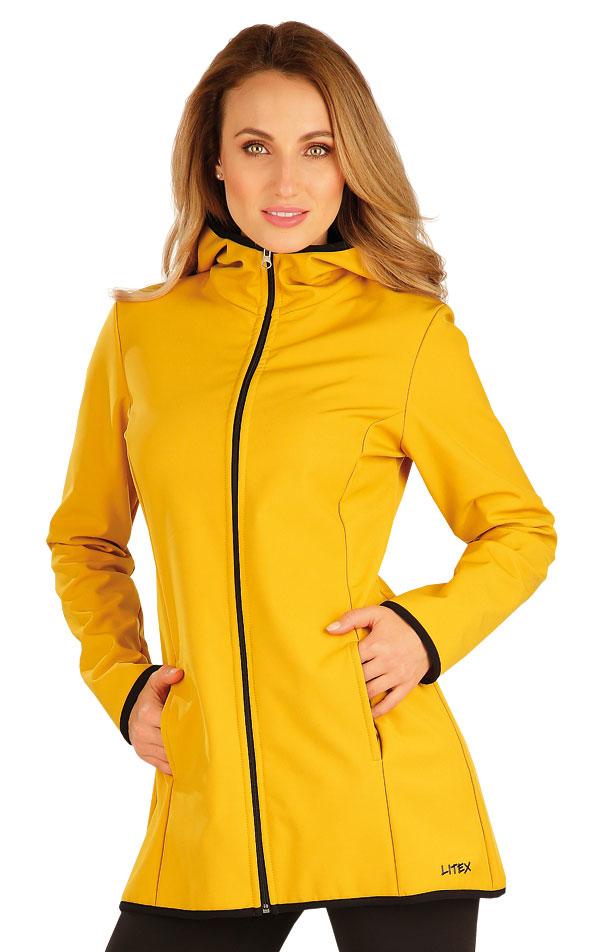 Bunda dámská softshellová s kapucí. 60276 | Vesty a bundy LITEX