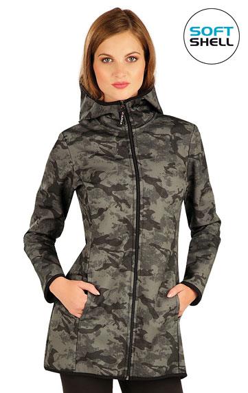 Vesty a bundy > Bunda dámská softshellová s kapucí. 60280