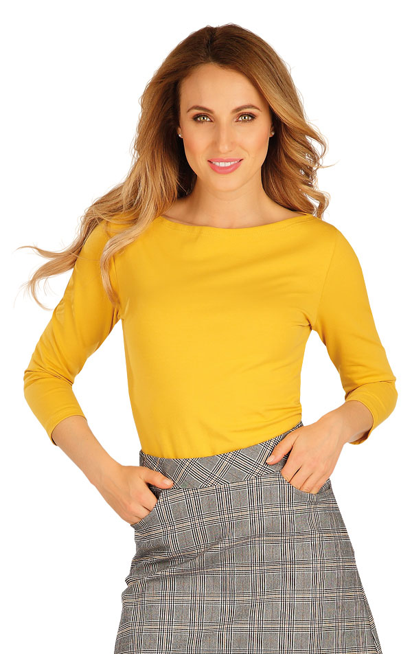 Tričko dámské s 3/4 rukávem. 60306 | Tílka, trička, halenky LITEX