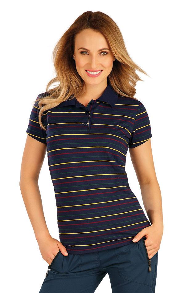 Polo tričko dámské s krátkým rukávem. 60380 | Sportovní oblečení LITEX