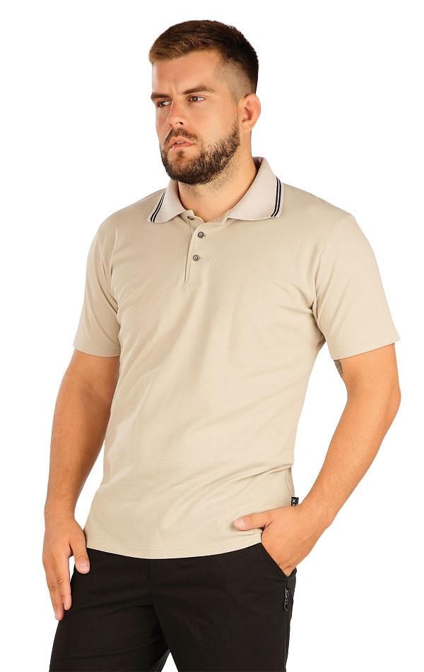 Polo triko pánské s krátkým rukávem. 60383 | Sportovní oblečení LITEX