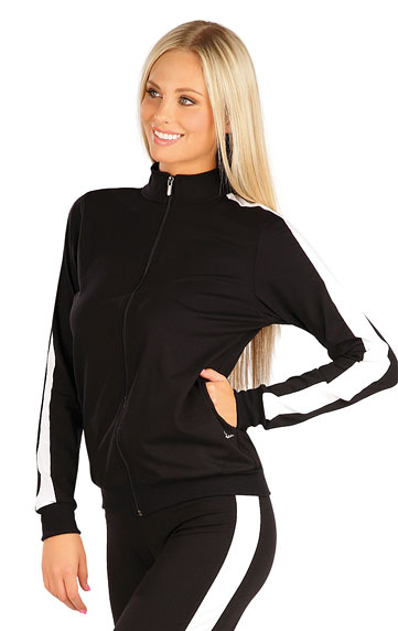 Vesty a bundy > Mikina dámská na zip. 60475