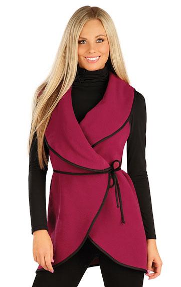Vesty a bundy > Fleecová vesta dámská dlouhá. 60485