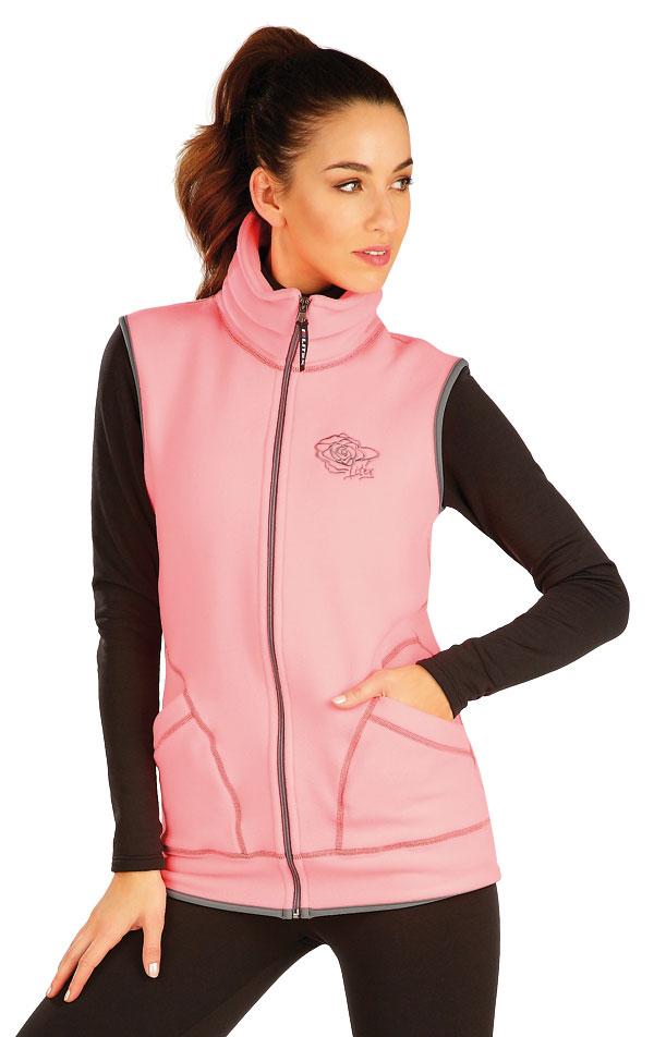 Fleecová vesta dámská. 60501 | Sportovní oblečení LITEX