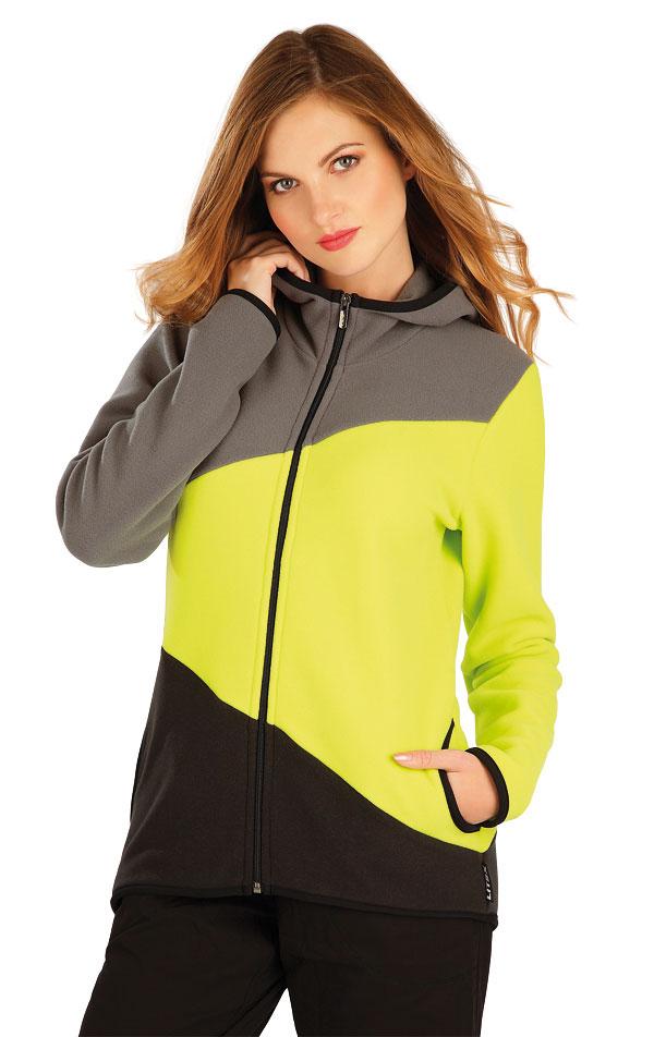 Fleecová mikina dámská s kapucí. 60514 | Sportovní oblečení LITEX