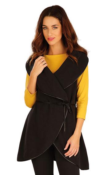 Fleecová vesta dámská dlouhá.