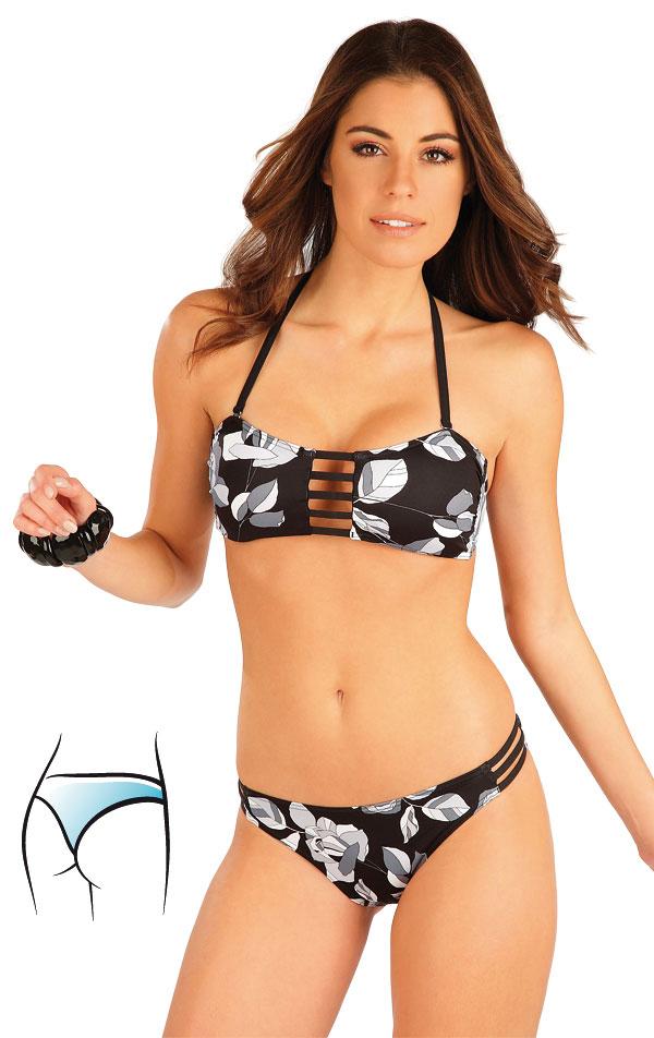 Plavky kalhotky string bokové. 63297 | Dvoudílné plavky LITEX