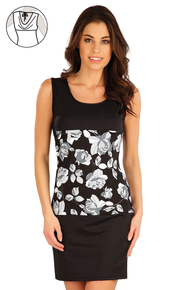Šaty dámské bez rukávu. 63309 | Plážové doplňky LITEX