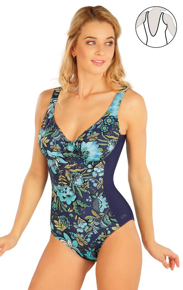 Jednodílné plavky s kosticemi. 63323 | Jednodílné plavky LITEX