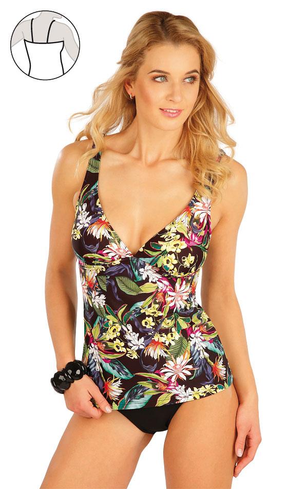 Plavky top dámský s kosticemi. 63347 | Dvoudílné plavky LITEX