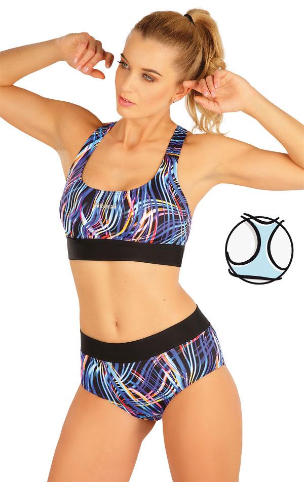 Plavky sportovní top bez výztuže. 63518 | Sportovní plavky LITEX