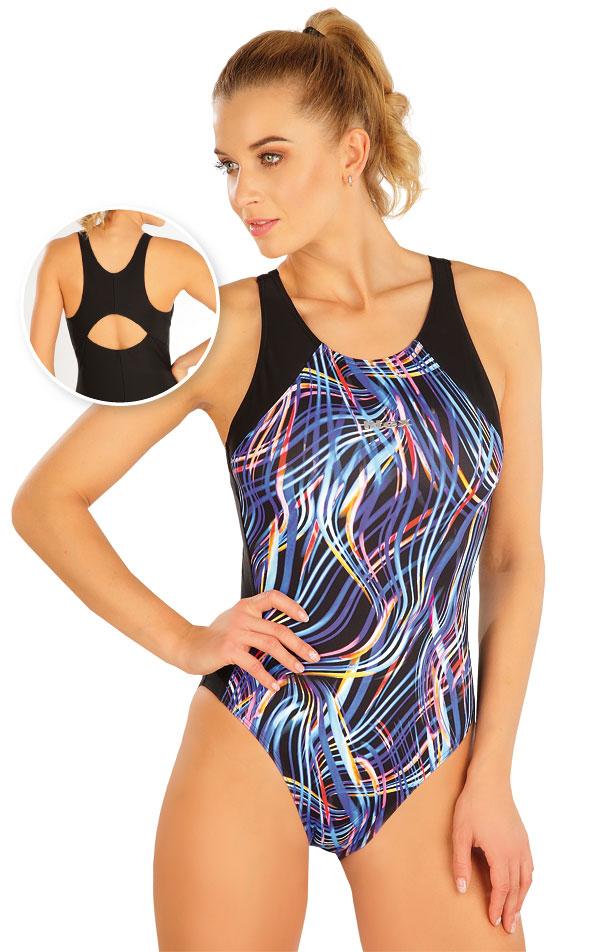 Jednodílné sportovní plavky. 63520 | Sportovní plavky LITEX