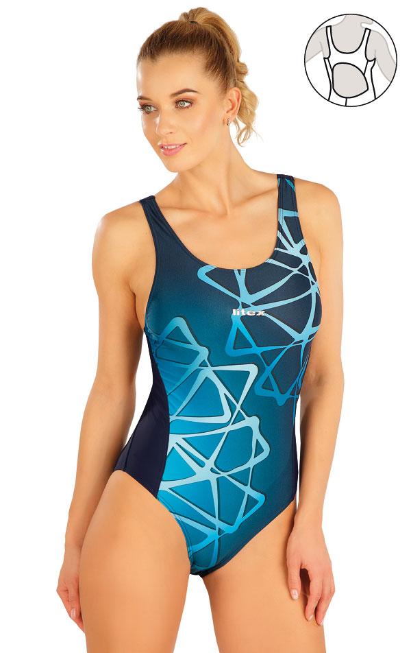 Jednodílné sportovní plavky. 63527 | Sportovní plavky LITEX