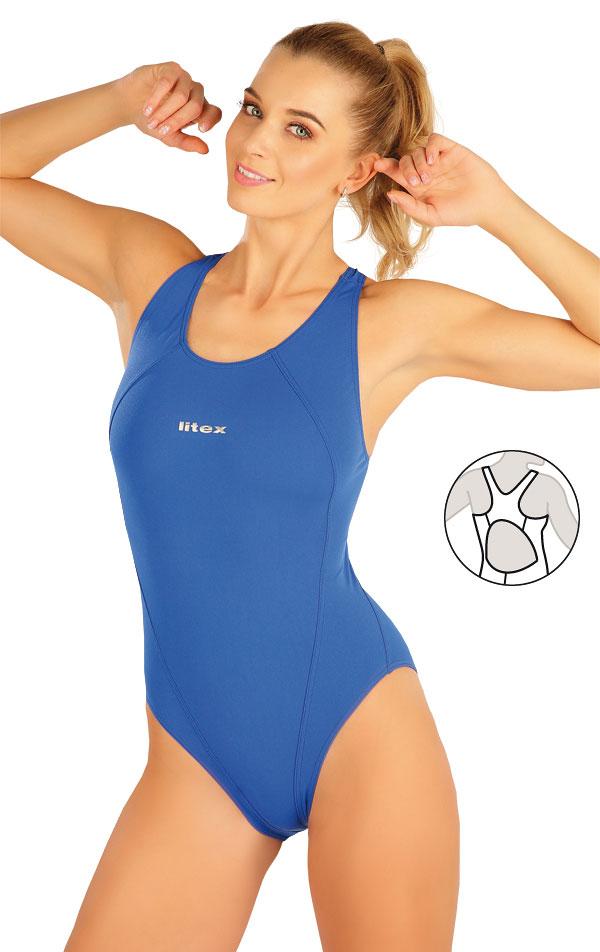Jednodílné sportovní plavky. 63536 | Sportovní plavky LITEX