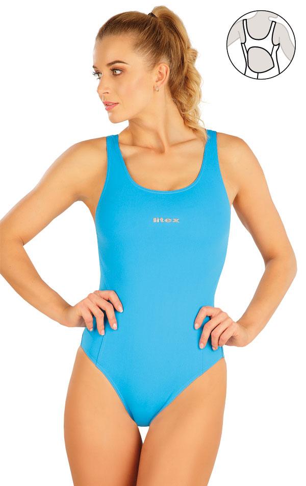 Jednodílné sportovní plavky. 63540   Sportovní plavky LITEX