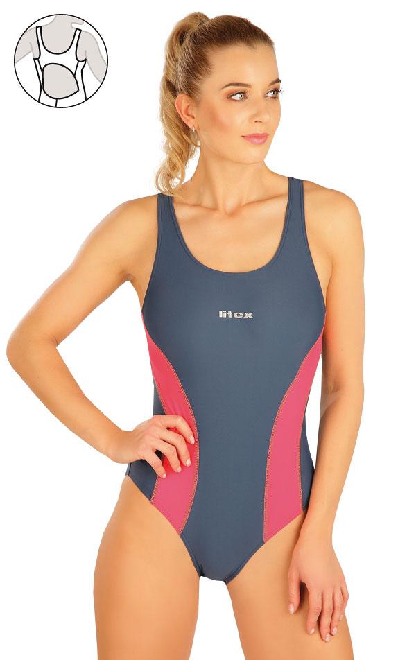 Jednodílné sportovní plavky. 63542 | Sportovní plavky LITEX