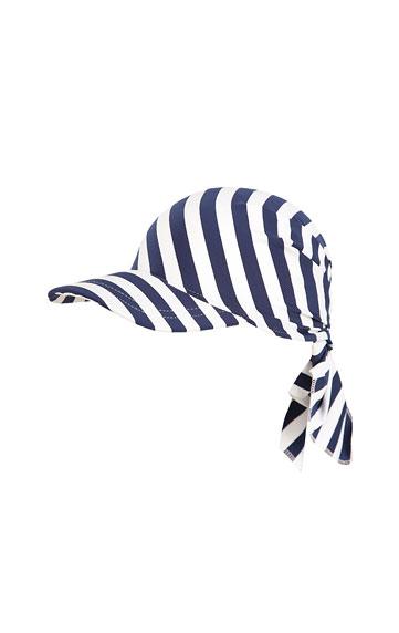 Dětský šátek s kšiltem.