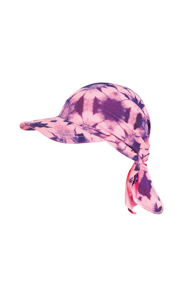 Dětský šátek s kšiltem. 63560 | Dívčí plavky LITEX