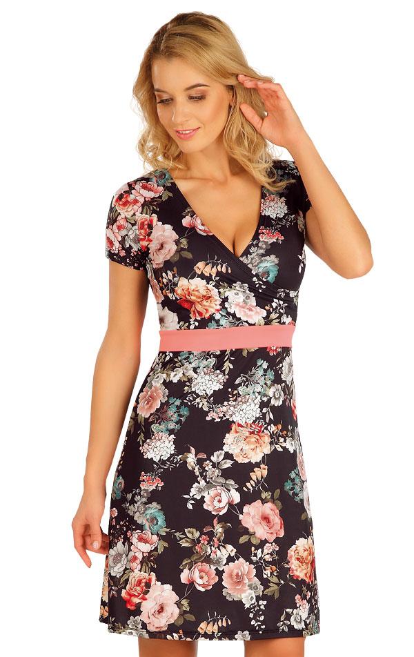 Šaty dámské s krátkým rukávem. 63571 | Plážové doplňky LITEX