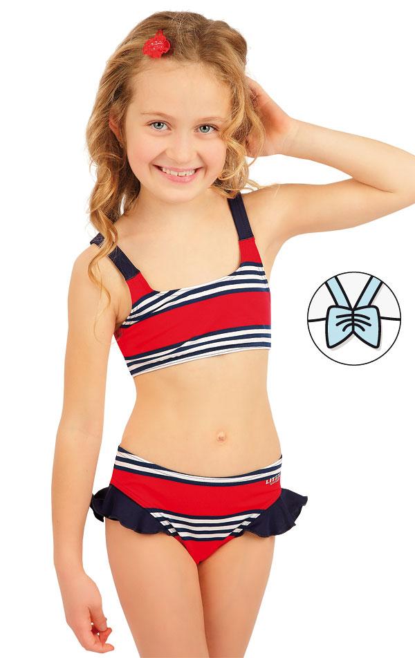 Dívčí plavky top. 63605 | Dívčí plavky LITEX