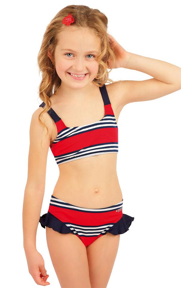 Dívčí plavky kalhotky bokové. 63606 | Dívčí plavky LITEX