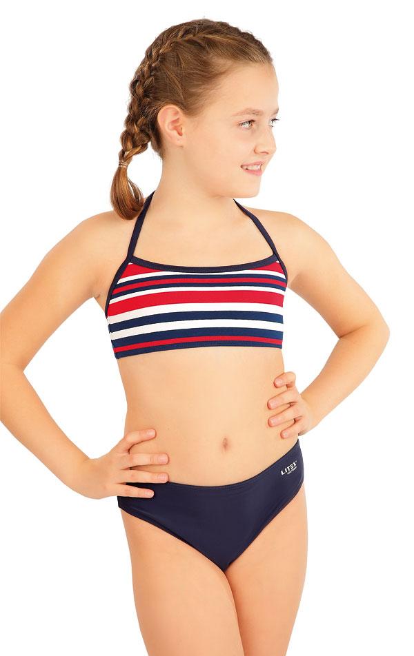 Dívčí plavky sportovní top. 63607 | Dívčí plavky LITEX