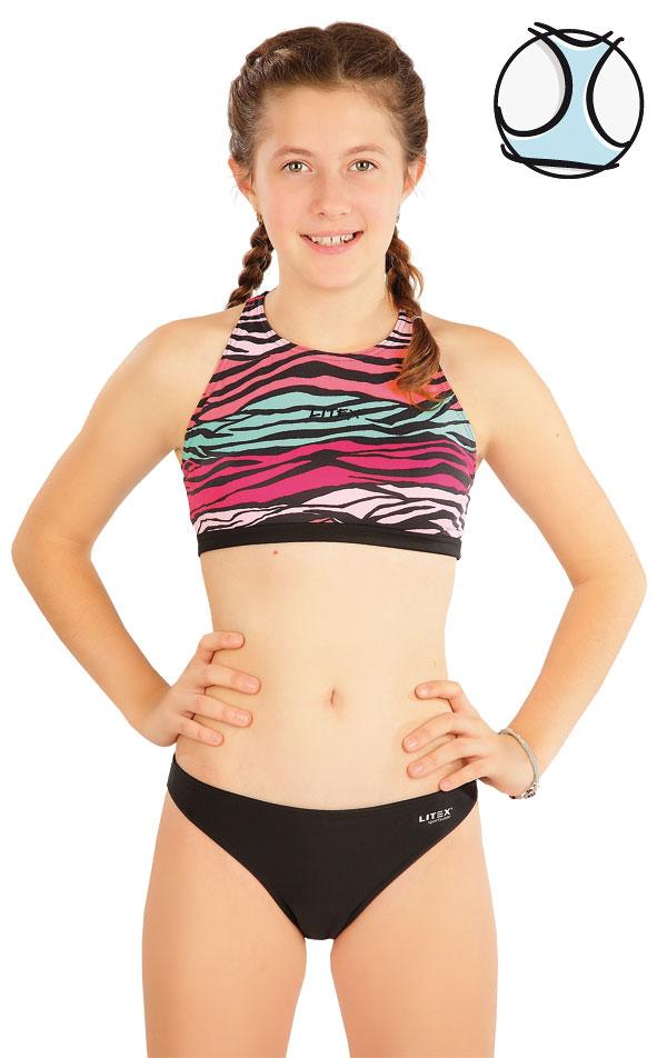 Dívčí plavky sportovní top. 63611 | Dívčí plavky LITEX